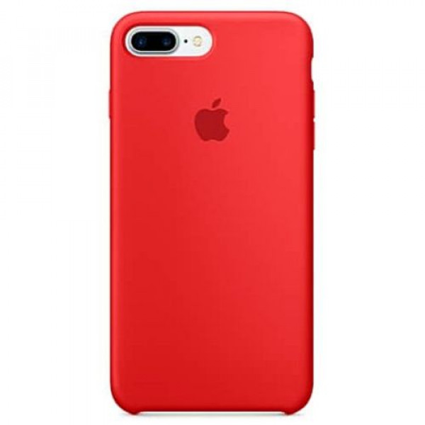 Чехол-накладка Apple iPhone 7Plus/8Plus Silicone Case RED (MMQV2)