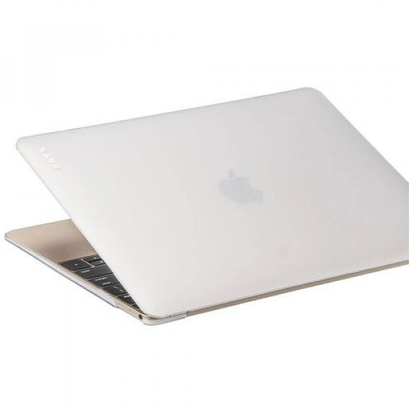 Чехол-накладка LAUT HUEX for MacBook 12'' frosty (LAUT_MB12_HX_F)