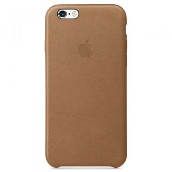 Чехол-накладка Apple iPhone 6S Leather Case Brown MKXR2
