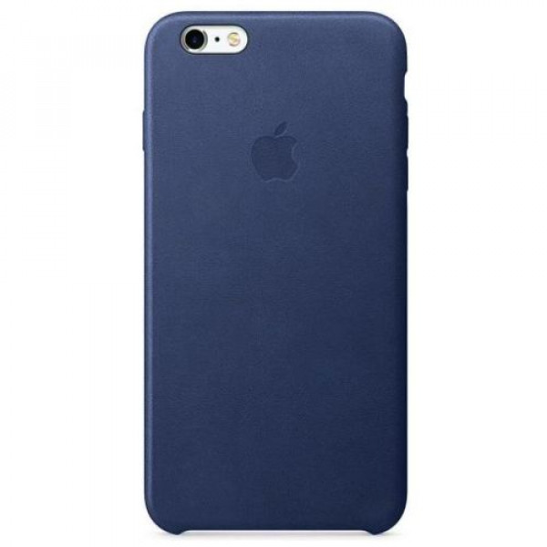 Чехол-накладка Apple iPhone 6S Plus Leather Case Midnight Blue MKXD2
