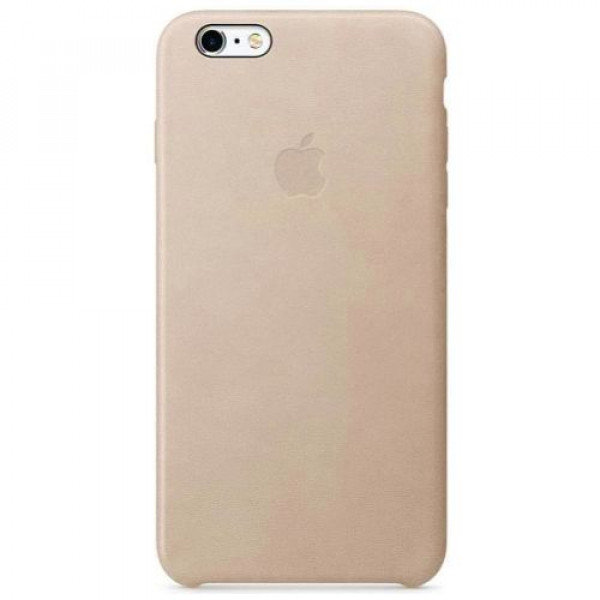 Чехол-накладка Apple iPhone 6S Plus Leather Case Rose Gray MKXE2