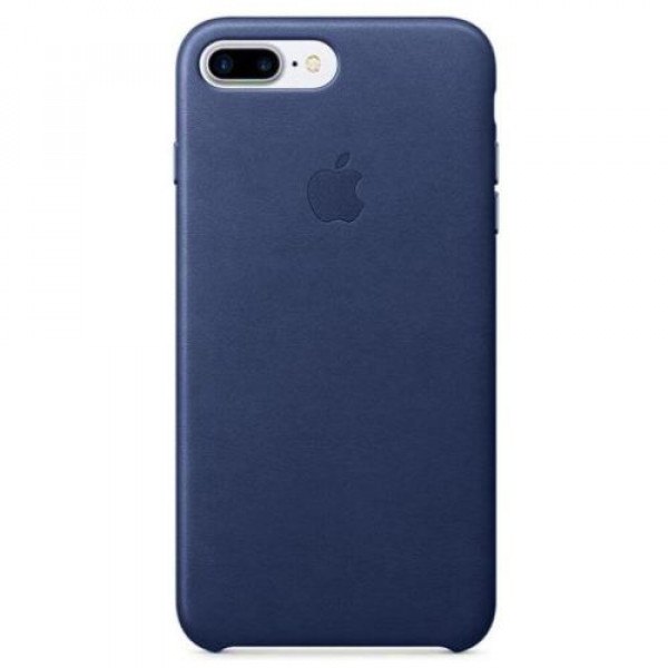 Чехол-накладка Apple iPhone 7Plus/8Plus Leather Case Midnight Blue (MMYG2)