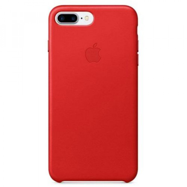 Чехол-накладка Apple iPhone 7Plus/8Plus Leather Case RED (MMYK2)