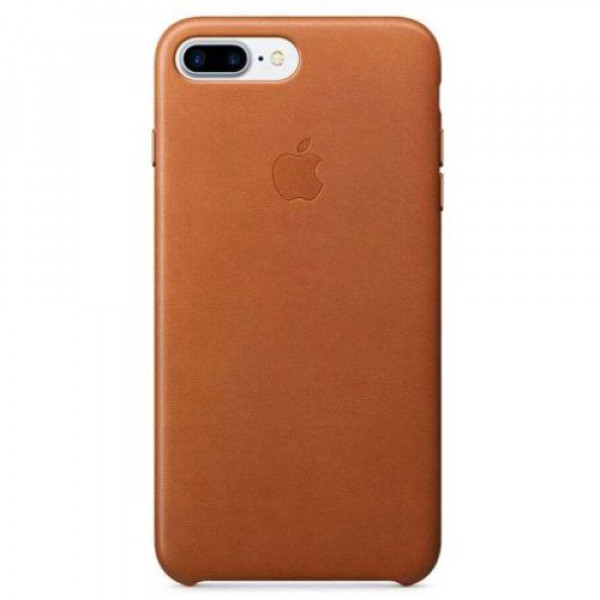 Чехол-накладка Apple iPhone 7Plus/8Plus Leather Case Saddle Brown (MMYF2)
