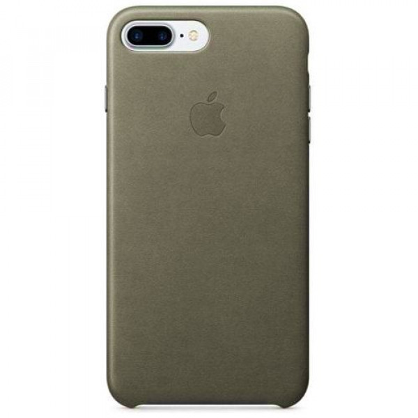 Чехол-накладка Apple iPhone 7Plus/8Plus Leather Case Storm Gray (MMYE2)