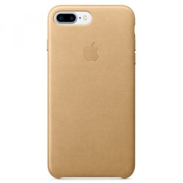 Чехол-накладка Apple iPhone 7Plus/8Plus Leather Case Tan (MMYL2)