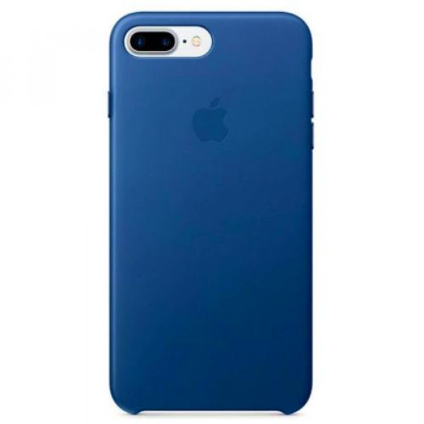 Чехол-накладка Apple iPhone 7Plus/8Plus Leather Case Sapphire (MPTF2)