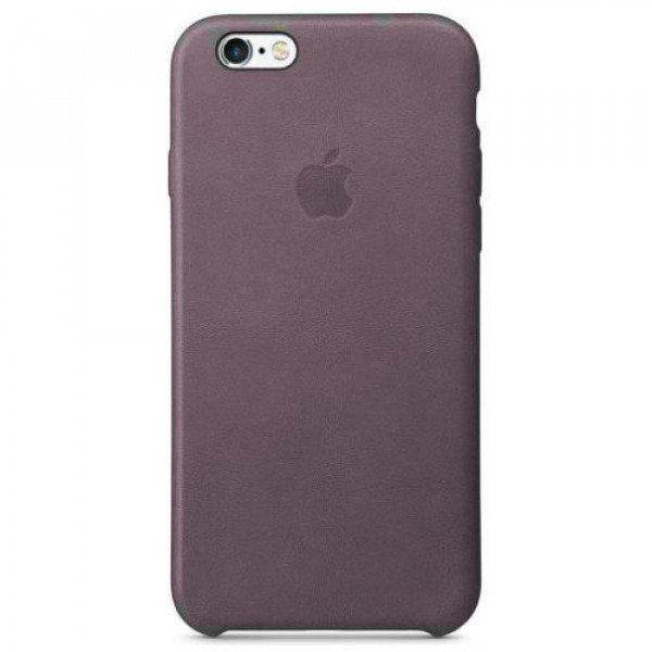 Чехол-накладка Apple iPhone 6S Leather Case Storm Gray MM4D2