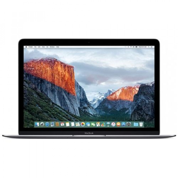 MacBook 12'' 1.1GHz 256GB Space Grey (MLH72) 2016