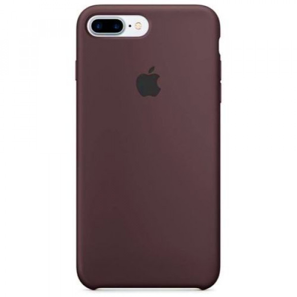 Чехол-накладка Apple iPhone 7Plus/8Plus Silicone Case Cocoa (MMT12)