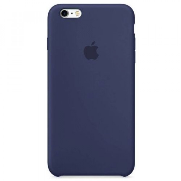 Чехол-накладка Apple iPhone 6S Plus Silicone Case Midnight Blue MKXL2