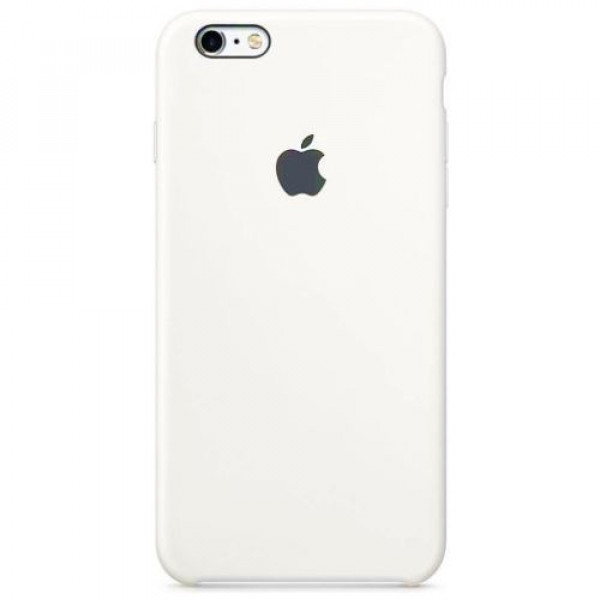 Чехол-накладка Apple iPhone 6S Silicone Case White MKY12