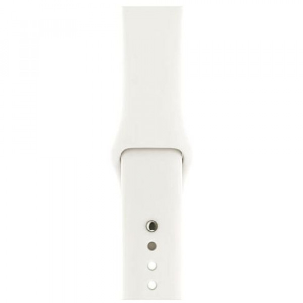 Ремешок Apple Watch 42/44mm Soft White Sport Band (MR282)