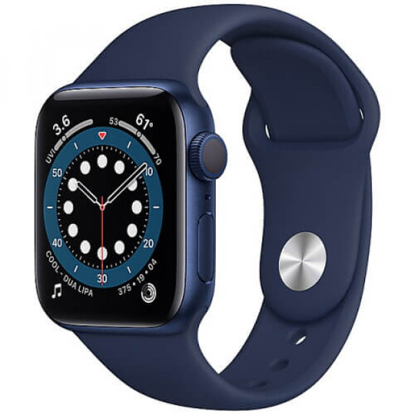 Apple WATCH Series 6 44mm Blue Aluminium Case with Blue Sport Band (M00J3)