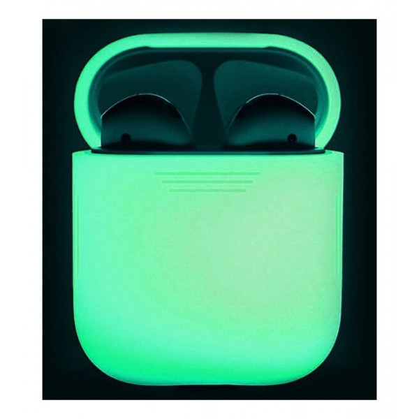 Чехол для наушников AhaStyle Silicone Case for AirPods Night Glow (X001BB1007.G)