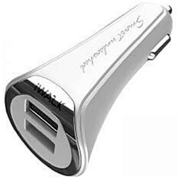 Автомобильное зарядное устройство iWALK Dolphin Duo 3.4 car charger White (00-00014070)