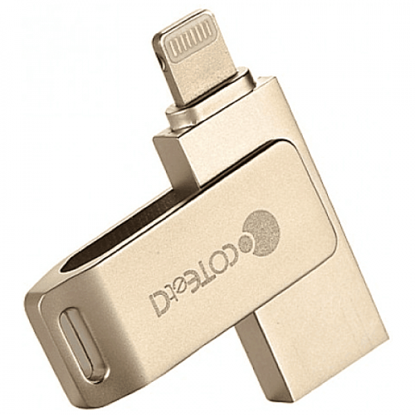 Накопитель COTEetCI iUSB 128GB Gold