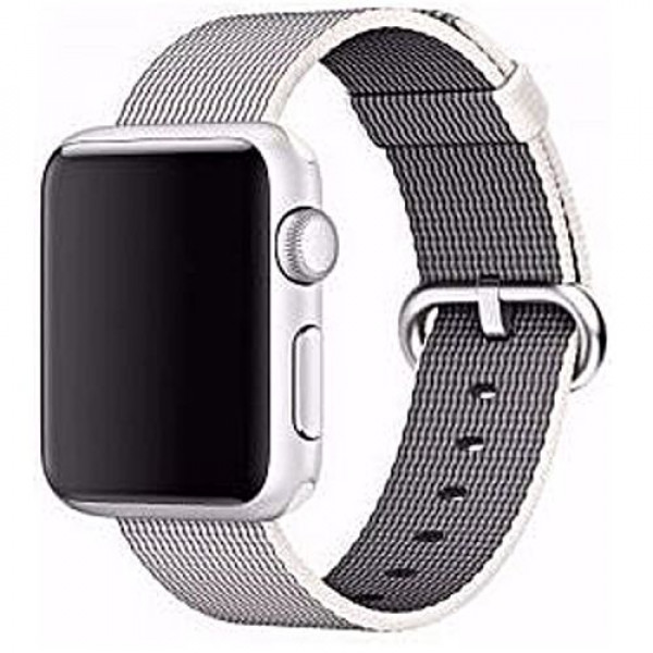 Ремешок COTEetCI W11 Nylon Band for Apple Watch 38mm Grey (WH5213-GY)