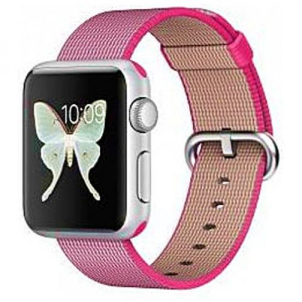 Ремешок COTEetCI W11 Nylon Band for Apple Watch 42mm Pink (WH5215-PK)