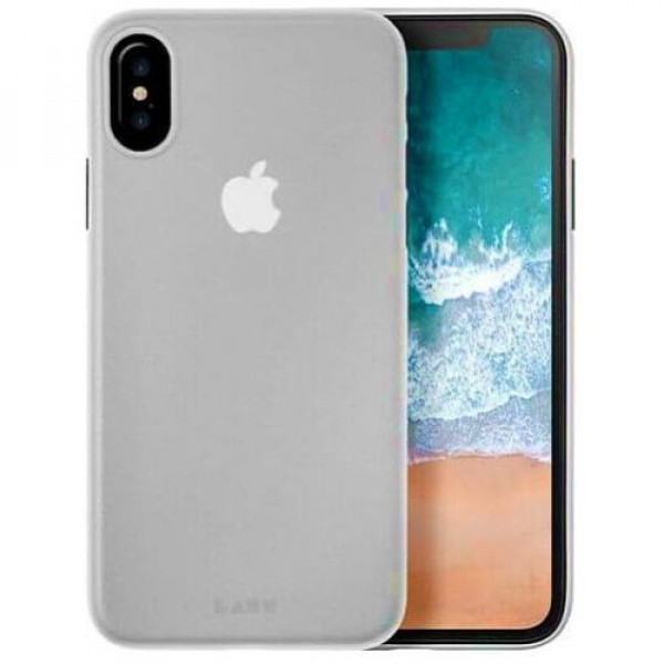 Чехол-накладка Laut SLIMSKIN for iPhone X Crystal (Laut_IP8_SS_C)