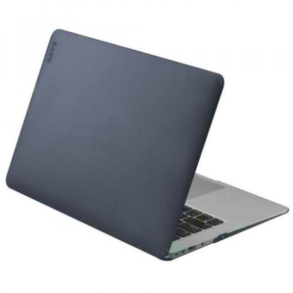 Чехол-накладка LAUT HUEX for MacBook Air 13'' Black (LAUT_MA13_HX_BK)