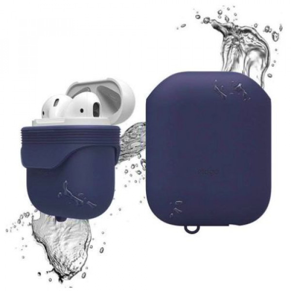 Чехол для наушников Elago Waterproof Case Jean Indigo for Airpods (EAPWF-BA-JIN)