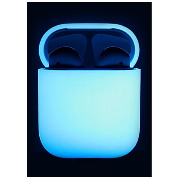Чехол для наушников Elago Silicone Case for Airpods Nightglow Blue (EAPSC-LUBL)