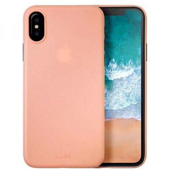 Чехол-накладка Laut SLIMSKIN for iPhone X Pink (Laut_IP8_SS_P)