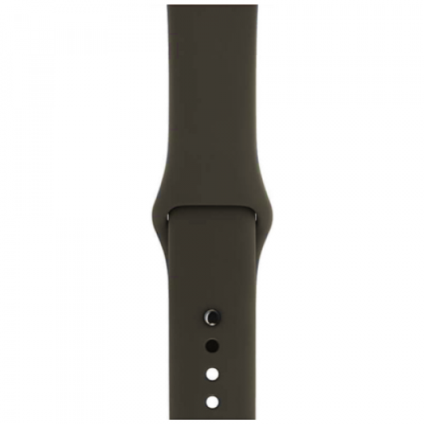 Ремешок Apple Watch 42/44mm Gray Sport Band (MR272)