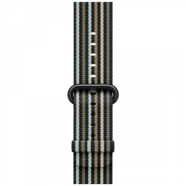 Ремешок Apple Watch 42/44mm Woven Nylon Black Stripe (MRHH2)