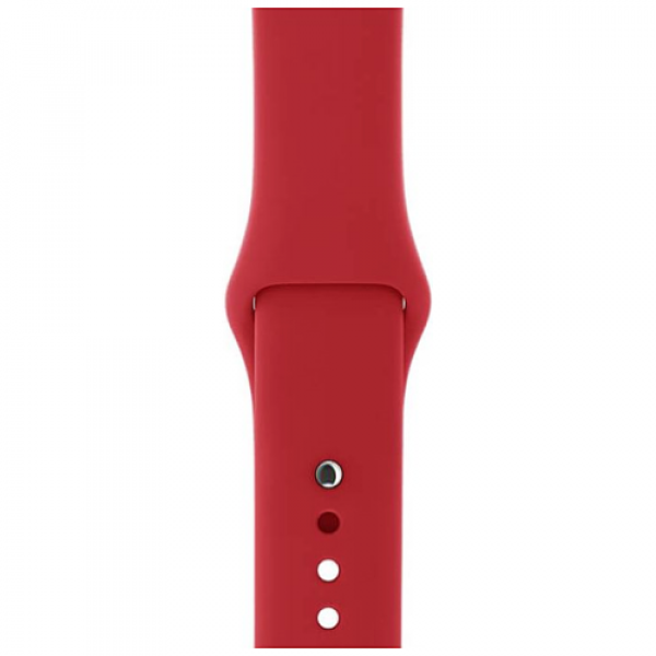 Ремешок Apple Watch 38/40mm (PRODUCT)RED Sport Band (MQXD2)