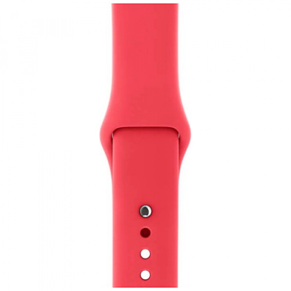 Ремешок Apple Watch 38/40mm Red Raspberry Sport Band (MRGQ2)