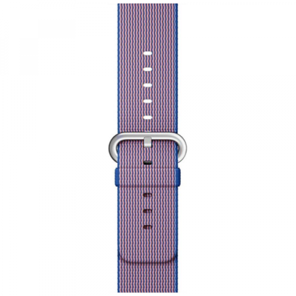 Ремешок Apple Watch 38/40mm Woven Nylon Royal Blue (MM9N2)