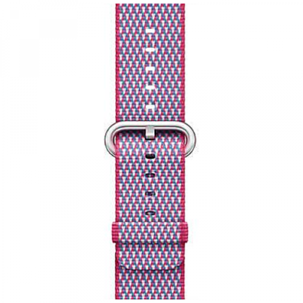 Ремешок Apple Watch 38/40mm Berry Check Woven Nylon (MQVD2)