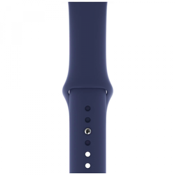 Ремешок Apple Watch 44mm Midnight Blue Sport Band S/M & M/L (MTPX2)