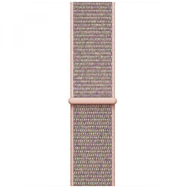 Ремешок COTEetCI W17 Magic Tape Band Apple Watch 38mm Pink (WH5225-PK)