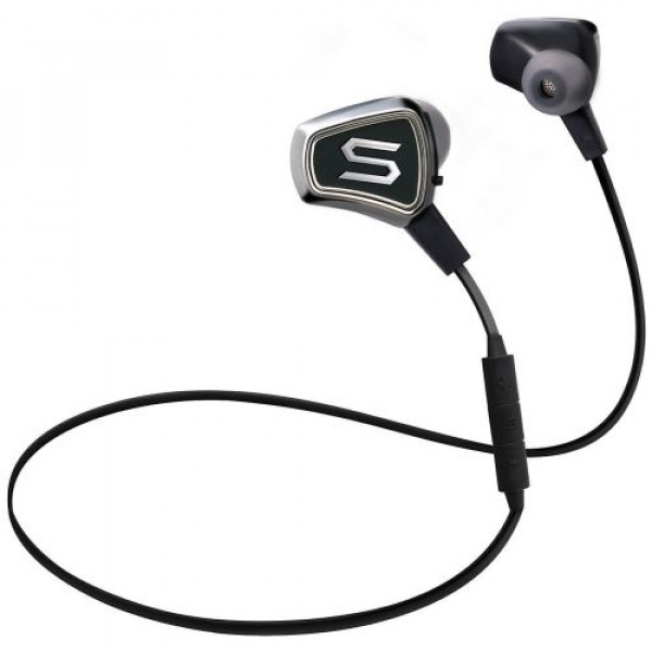 Наушники SOUL Impact Wireless Bluetooth Earphones Chrome Black (SI08BK)