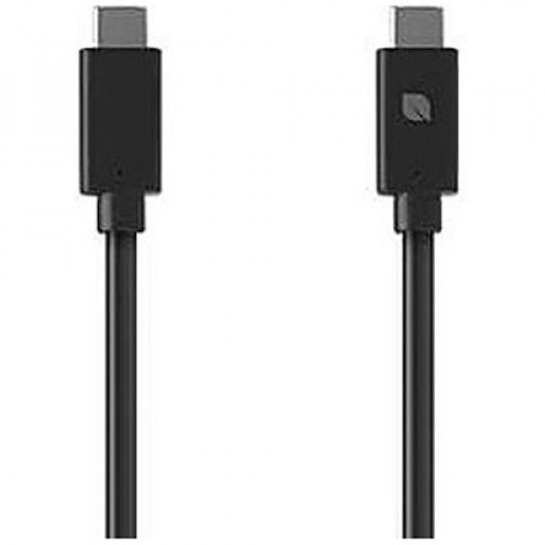 Кабель Incase 1M 2.0 USB-C to USB-C Cable Black (INPW300209-BLK)