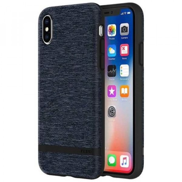 Чехол-накладка Incipio Esquire Series for Apple iPhone X - Blue (IPH-1631-BLU)