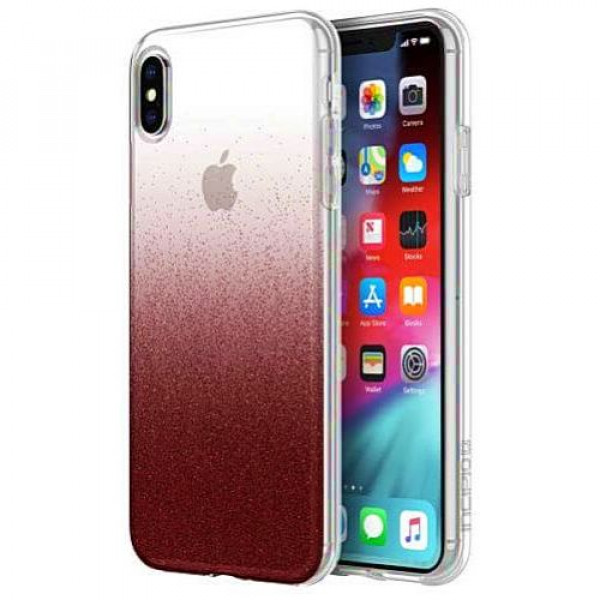 Чехол-накладка Incipio Design Series Classic for Apple IPhone XS Max Cranberry Sparkler (IPH-1765-CBS)