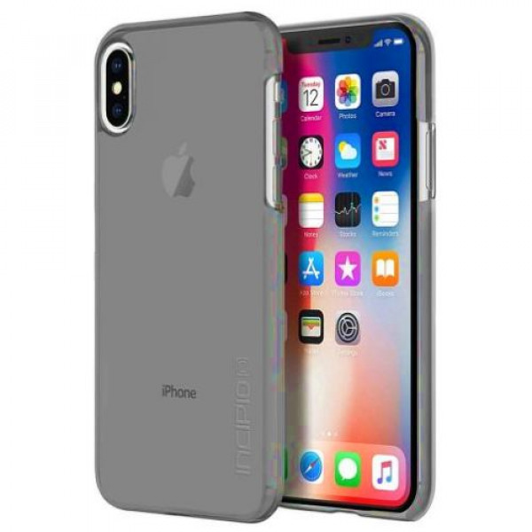 Чехол-накладка Incipio Feather Pure for Apple iPhone X - Smoke (IPH-1644-SMK)