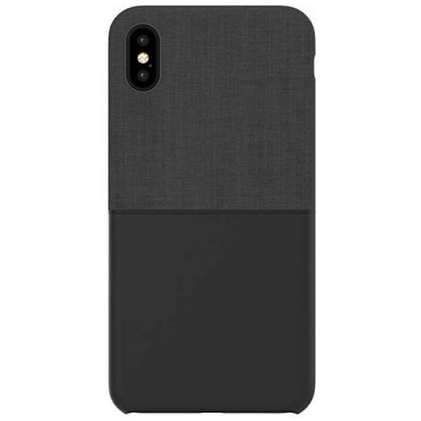 Чехол-накладка Incase Textured Snap Case for iPhone XS Max Black (INPH220561-BLK)
