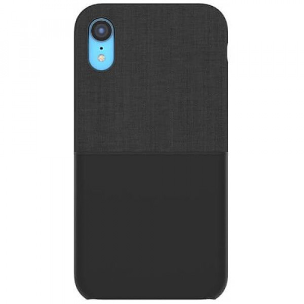 Чехол-накладка Incase Textured Snap Case for iPhone XR Black (INPH200562-BLK)