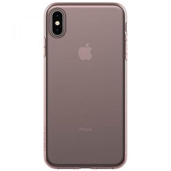 Чехол-накладка Incase Protective Clear Cover for iPhone XS Max Rose Gold (INPH220553-RGD)
