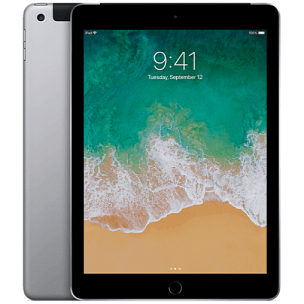 iPad Wi-Fi + Cellular 128GB Space Gray (MP262)