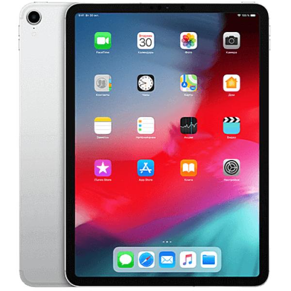 iPad Pro 11'' Wi-Fi + Cellular 256GB Silver 2018 (MU1D2)