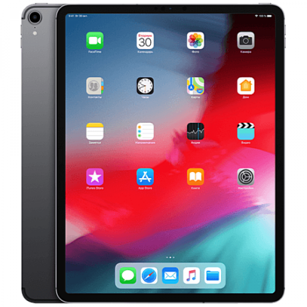 iPad Pro 12.9'' Wi-Fi + Cellular 256GB Space Gray 2018 (MTJ02)