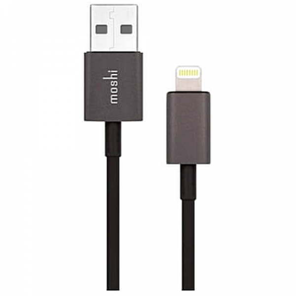 Кабель Moshi Lightning to USB Cable Black (1 m) (99MO023006)