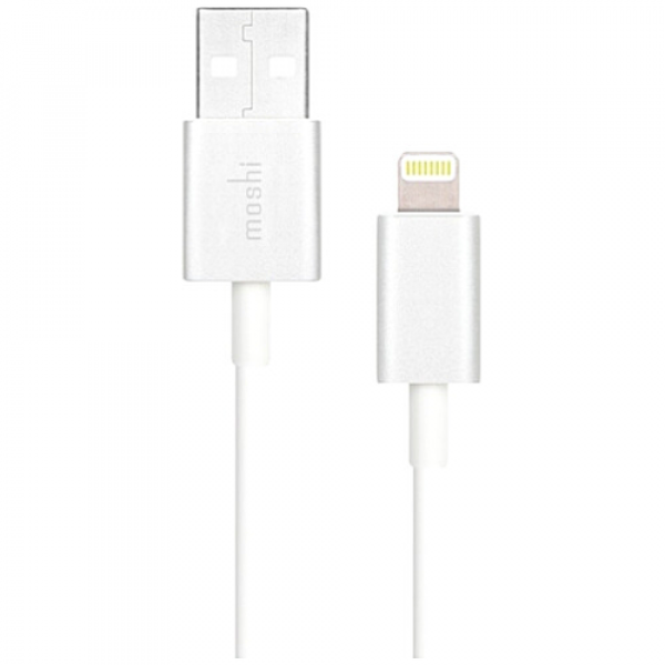 Кабель Moshi Lightning to USB Cable White (1 m) (99MO023119)