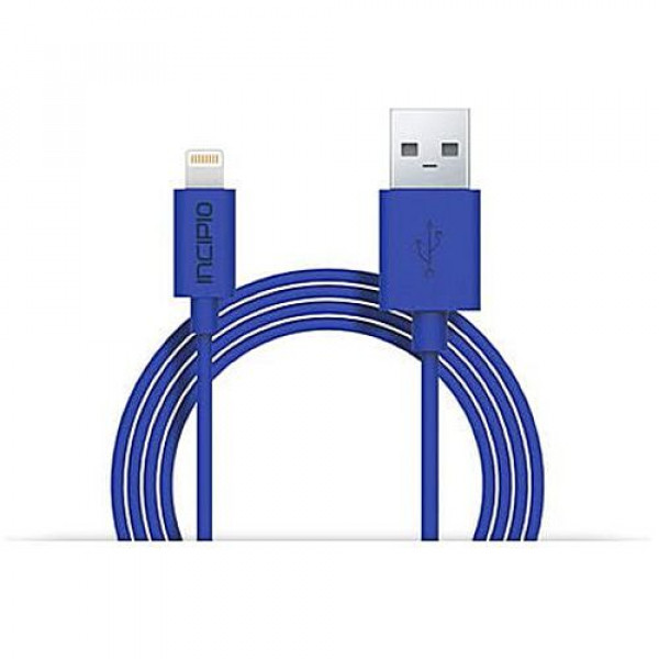 Кабель Incipio Charge/Sync Cable with Lightning Connector 1M Blue (PW-189)